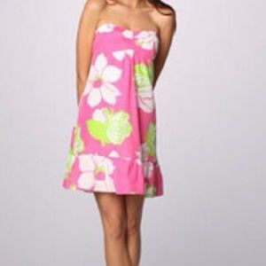 Lilly Pulitzer Blair Dress in Hotty Pink